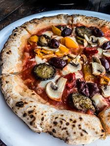 Drivu Pizza Vegetarian