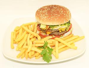 Drivu Half Pound Cheeseburger