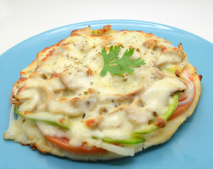 Drivu Vegetable Melt Pizza
