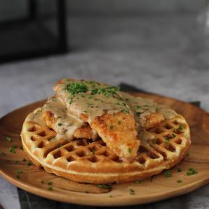 Drivu Crispy Chicken Waffle