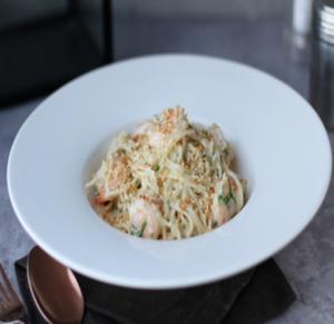 Drivu Spaghetti Genovese Chicken