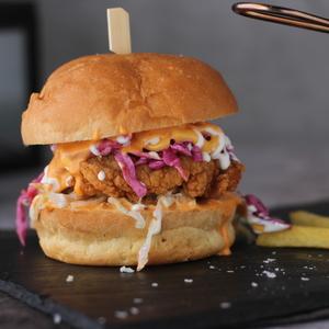 Drivu Zulu Chicken Burger