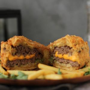 Drivu Frizzled Burger