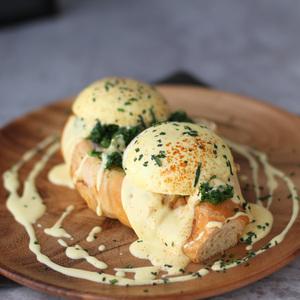 Drivu Benedict on Croissant
