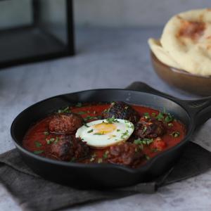 Drivu Meatball Egg Breakfast
