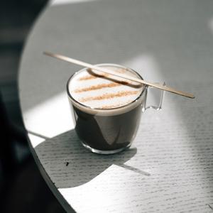 Drivu Hot Houjicha Latte