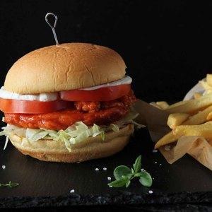 Drivu Buffalo Chicken Burger