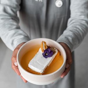 Drivu Saffron Sesame Milk Cake