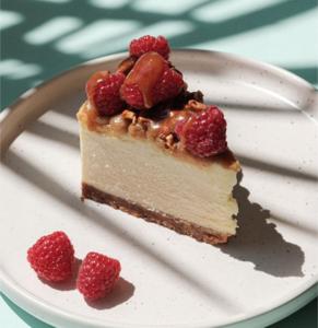 Drivu Raspberry Crunch Cheesecake