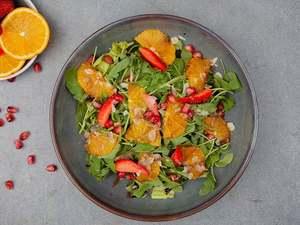 Drivu Orange Strawberry Salad