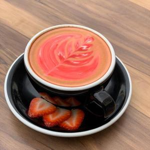 Drivu  Hot Strawberry Latte