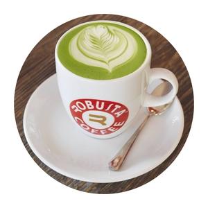 Drivu Hot Matcha Green Latte