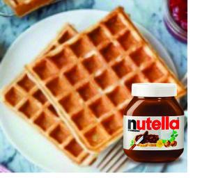 Drivu Waffle with Nutella
