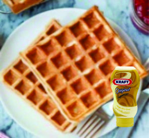 Drivu Waffle with Cheese