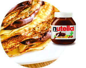 Drivu Nutella Paratha