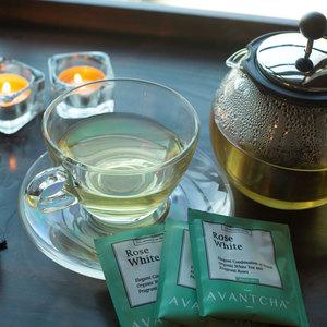 Drivu Rose White Hot Tea