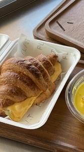 Drivu Truffle Egg Croissant