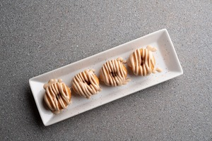 Drivu White Chocolate Donut (4 Pieces)