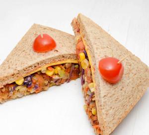 Drivu Veggie Sandwich