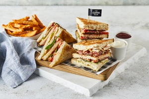 Drivu Chicken Club Sandwich
