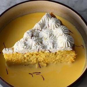 Drivu Saffron Milk Cake Slice
