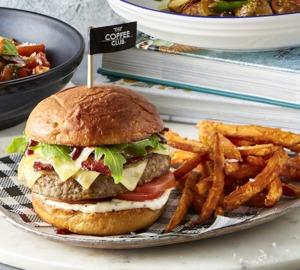 Drivu Double Cheese Bacon Burger