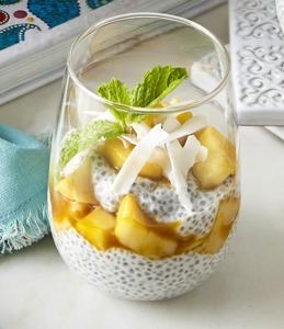 Drivu Chia Pudding with Mango