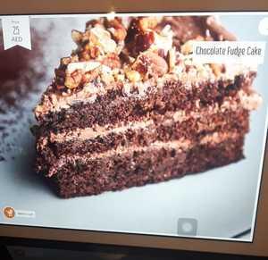 Drivu Chocolate Fudge Cake Slice