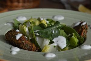 Drivu Kebab Bait Ommy Salad