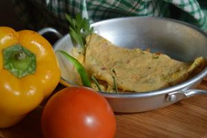 Drivu Vegetable Omelet