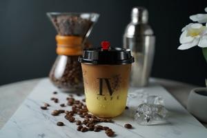 Drivu Iced Saffron Latte