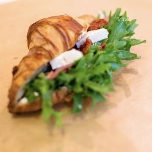 Drivu Feta Cheese Croissant Sandwich