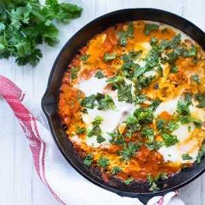 Drivu Turkish Shakshuka with 3 Eggs