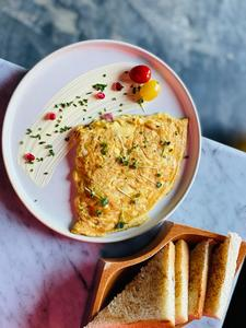 Drivu Omelette with Cheese & Mushroom