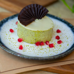 Drivu Pistachio Mousse Cake