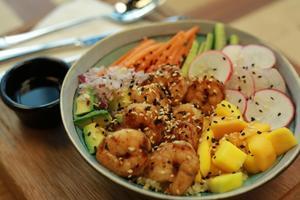 Drivu Shrimp Poke Bowl