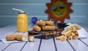 Drivu Mini Mozzarella Sticks Meal