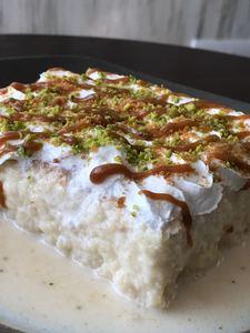 Drivu Pistachio Caramel Milk Cake