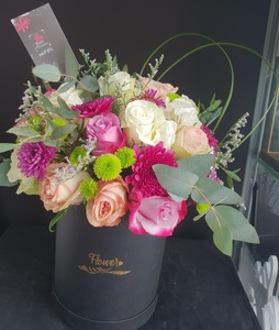 Drivu Black Box with Mix Flowers #1