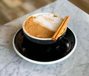 Drivu White Cinnamon Cappuccino