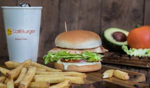 Drivu Cali Chicken Burger Meal