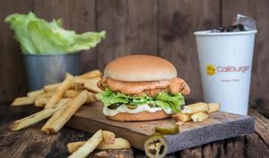 Drivu Wild Fire Chicken Burger Meal