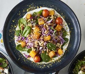 Drivu Roasted Pumpkin & Goat Cheese Salad