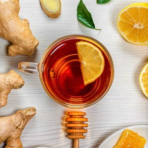 Drivu Lemon Ginger Honey Tea
