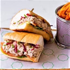 Drivu Japanese Tuna Sandwich
