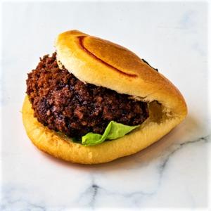 Drivu Beef Happy Face Burger
