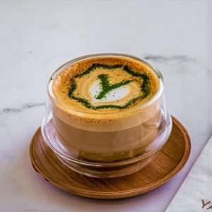 Drivu Yamanote Matcha Cappuccino