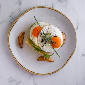 Drivu Fried Egg & Potato