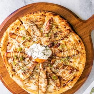 Drivu Teriyaki Chicken Pizza
