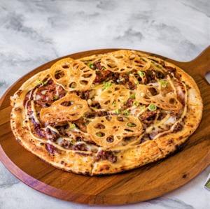 Drivu Miso Beef Pizza